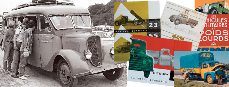 Citroën Type 23 – den mest kända lastbilen har jubilerat