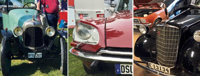 Citroënlubbens sommarmöte – En samlad manifestation