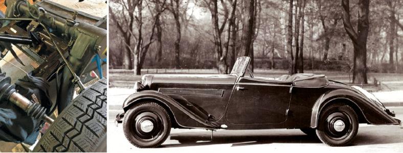 Kuggstångsstyrningen och Citroën